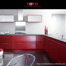 Red Kitchen Furniture Red Kitchen Cabinet Promotion Shop For Promotional Red Kitchen