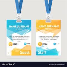 Company Id Badge Template 013 Template Ideas Free Id Badge Templates Card Plastic