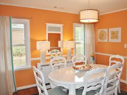 Catchy Orange Dining Room Designs With Awesome Inspiration Home987