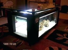 fish tank coffee table aquarium top kitchen led backsplash fish tank