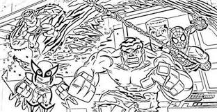 Small Picture Marvelous Super Hero Squad Coloring Page NetArt