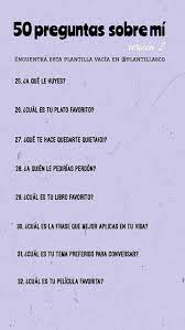 Pin De Jessica Hernández En Preguntas Xd En 2020 50 Preguntas Sobre Mi Preguntas Divertidas Preguntas Profundas