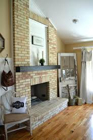 fireplace paint brick painted white home depot grey