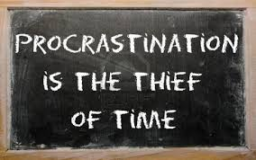 words essay on procrastination is the thief of time