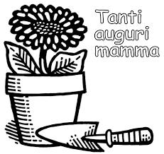 Festa Della Mamma Disegni Da Stampare E Colorare Con Disegni Per La