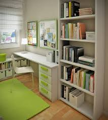 ... Kids desk, Kids Bedroom, Small Space For Kids Room Interior Design  Bookshelf Kids Room ...