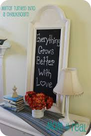 office chalkboard. Turn A Mirror Into Chalkboard Office