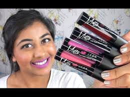 NEW <b>L.A. Girl Matte Pigment</b> Gloss Review & Lip Swatches! - YouTube