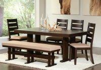small dining bench: bench seat dining room  big amp small dining room sets with bench seating