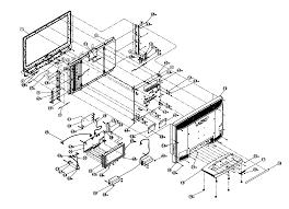 Vizio model vx32lhdtv10a lcd television genuine parts