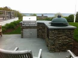 big green egg backyard kitchen elegant improbable big green egg outdoor kitchen ideas big green egg