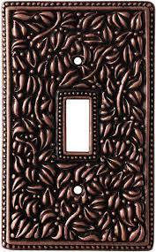 san michele antique copper light switch plate covers 1 toggle copper light switch plates34