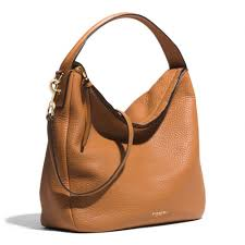Lyst - Coach Bleecker Sullivan Hobo In Pebbled Leather in Brown