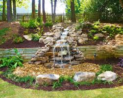 Small Picture Waterfall Ideas For Backyard Backyard Design And Backyard Ideas