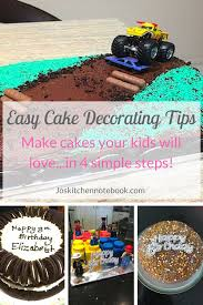 Easy Cake Decorating Tips Make Cakes Your Kids Will Love Jos