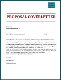 Sample Letter For Event Proposal Sample Proposal Cover Letter Scrumps