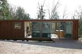 Palomar Mountain customized weeHouse 1x prefab home, exterior view.