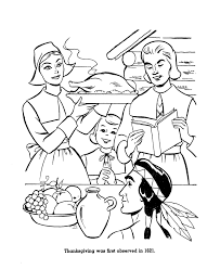 Small Picture Pilgrim Thanksgiving Coloring Page Sheets First Thanksgiving