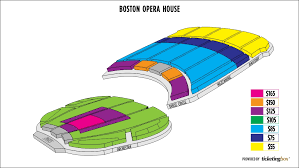 Boston Opera House Seating Chart