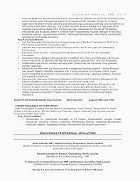 47 Free Download Resume Examples For Human Resources Manager