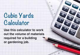 Cubic Yards Calculator And Price Estimator
