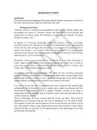 domestic violence research proposal domestic violence violence
