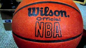 rare vintage wilson official nba leather game ball unboxing review pre spalding indoors only you