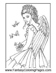 Small Picture Angels Coloring Pages Fantasy Coloring Pages