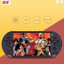 Máy Chơi Game Cầm Tay X9 Cho Tv Output NEW Updated 8GB PSP Handheld Game  Player 5 Inch Portable Game Console