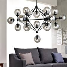 industrial home lighting. Modern Vintage Pendant Lights Iron Glass Ball Loft American Industrial Home Decoration Lamp E27 Edison Bulb Lighting R