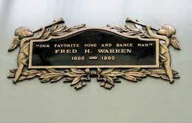 Fred Warren - Actor. Fred Warren and his wife Effie Conley-Warren were a  Vaudeville singing and dancing team around the tur… | Grave memorials,  Fred, Metro pictures