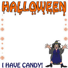 halloween candy border clipart. Plain Halloween I Have Candy  Halloween To Border Clipart C