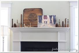 simple mantel decorating ideas winter finding home farms