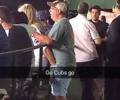 Handjob at baseball game