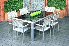 glass top garden table ideas patio tables or large size of set round 48 furniture parts