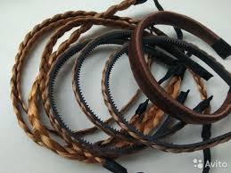 Новые ободки в виде косичек из искусственных волос купить в  Санкт-Петербурге | Личные вещи | Авито