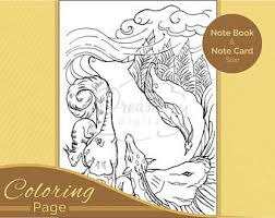 Small Picture Animal coloring page Etsy