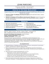 Lead Software Architect Resume Sample Job Description Template