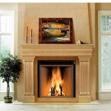 renaissance rumford 1500 woodburning zero clearance fireplace