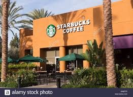 starbucks store exterior. Exellent Starbucks A Street Level View Of The Exterior A Starbucks Cofee Shop In Irvine  California USA To Store Exterior