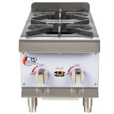 for a durable and reliable cooking solution choose this cooking performance group hp212 2 burner gas countertop range