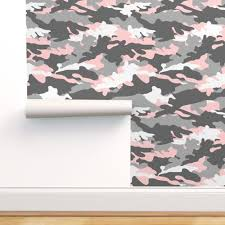micro scale pink and grey camouflage