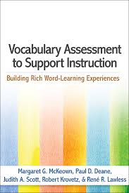 Assessment Gorgeous Vocabulary Assessment To Support Instruction Building Rich Word