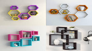 <b>Creative Wooden</b> shelf Ideas for <b>Wall</b>