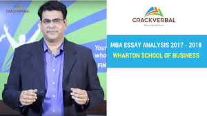 wharton school of business essay analysis  wharton school of business essay analysis 2017 2018