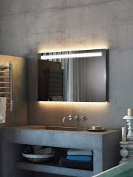 bathroom mirrors with led lights. Argent Wide LED Light Bathroom Mirror Mirrors With Led Lights L