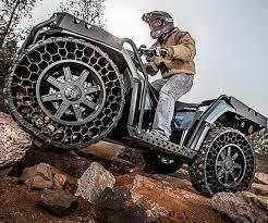 polaris sportsman wv850 airless tire atv dudeiwantthat com