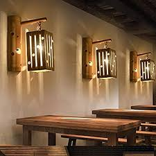 Image Lighting Fixtures Avanthika E27 Wall Sconces Mounted Wall Bedroom Stair Wall Lights Personality Creative Antique Bamboo Arts Japanese Amazoncom Avanthika E27 Wall Sconces Mounted Wall Bedroom Stair Wall Lights