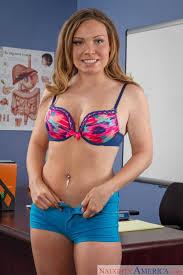 Sensual blonde Tiff Bannister seduces her professor in his office.