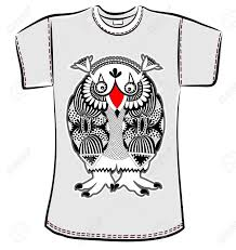 Doodle Shirt Design T Shirt Design With Original Modern Cute Ornate Doodle Fantasy